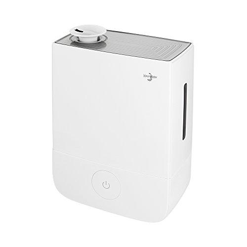 Joly Joy®(ジョリジョイ) 超音波式加湿器 ディフューザー 風邪防止 空焚き防止 静音 大容量 4リットル (ホワイト)