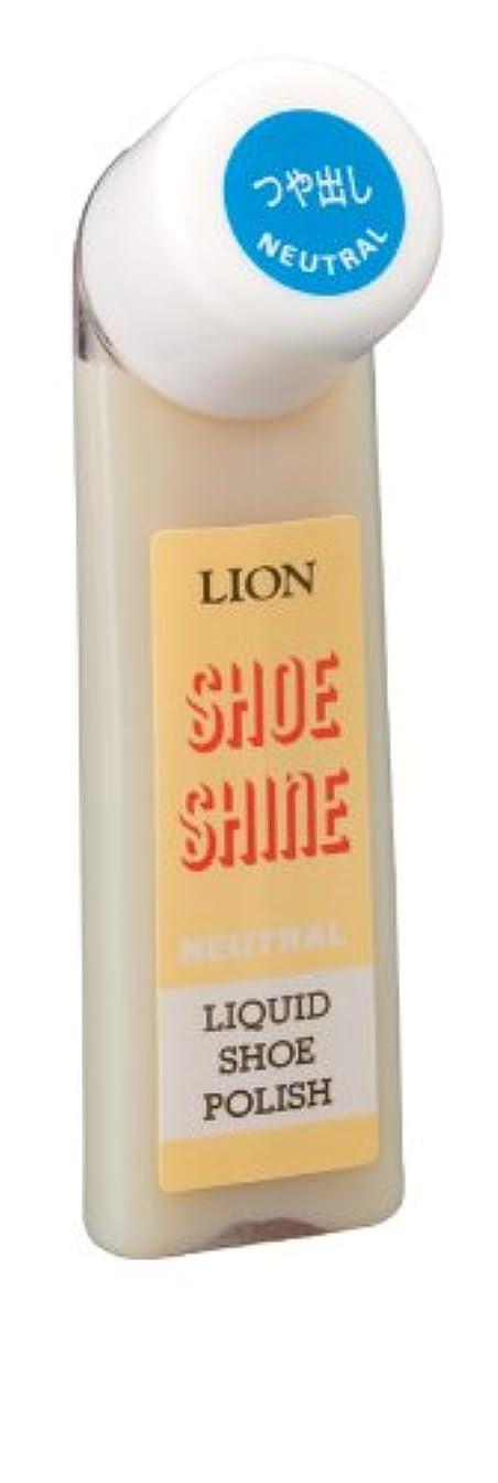 地上の不信長老ライオン 液体500靴クリーム 52ml (無色)