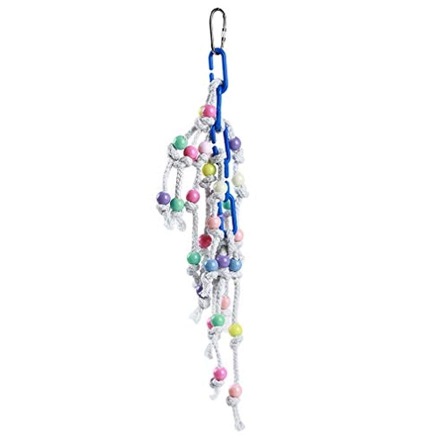 モネ種類辞書HKUN オウム おもちゃ 鳥のおもちゃ 噛む玩具 吊り下げ かわいい ロープ ストレス解消 玩具 安全性 頑丈
