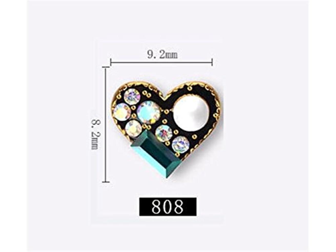 保護呪い宗教Osize 5本のラインストーンクリスタルガラスドリル3DネイルステッカーネイルアートデコレーションDIYネイルチップ(図示)