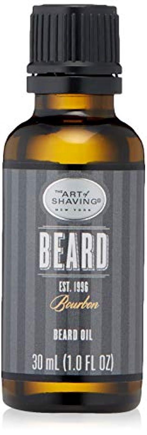 ゆるい出席するかび臭いアートオブシェービング Beard Oil - Bourbon 30ml/1oz並行輸入品