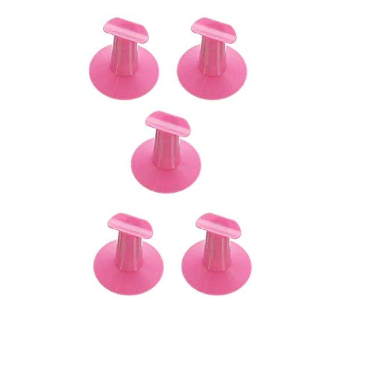 アーネストシャクルトン階噴火5つのハードプラスチック製の交換用爪立って支持台DIYネイルアートデザイン絵画サロンランダムな色
