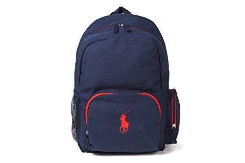 (ポロラルフローレン) POLO RALPH LAUREN キャンパスバックパック Campus Backpack ネイビー RA100060