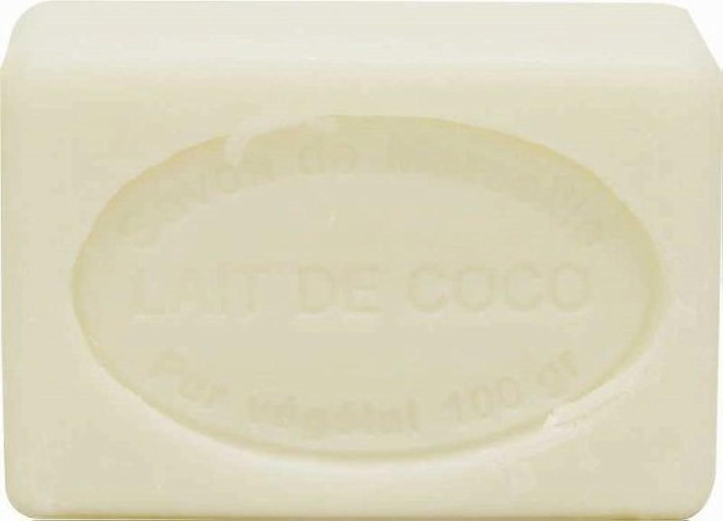 違反する評価する直感ル?シャトゥラール ソープ 100g ココナッツミルク SAVON 100