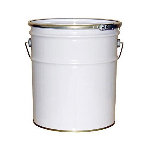 ガレージ・ゼロ 無地 ペール缶 18L 白/白ペール/オープン(フタタイプ)/空缶/TFS(ティンフリースチール)/G...