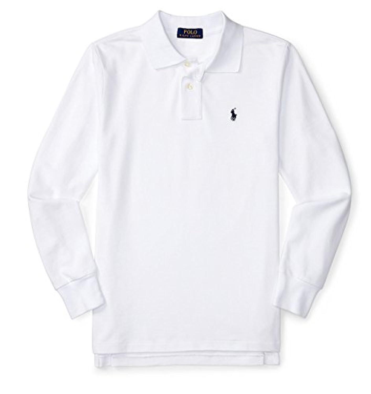 [POLO RALPH LAUREN (ポロラルフローレン)] コットンメッシュ長袖ポロシャツ ボーイズ 男の子 S-XL [並行輸入品]