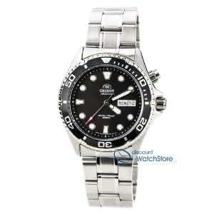 Orient (オリエント) Black Ray 自動巻 オートマチック ダイバーズウォッチ CEM65008B メンズ 男性用 腕時計 ウォッチ(並行輸入)