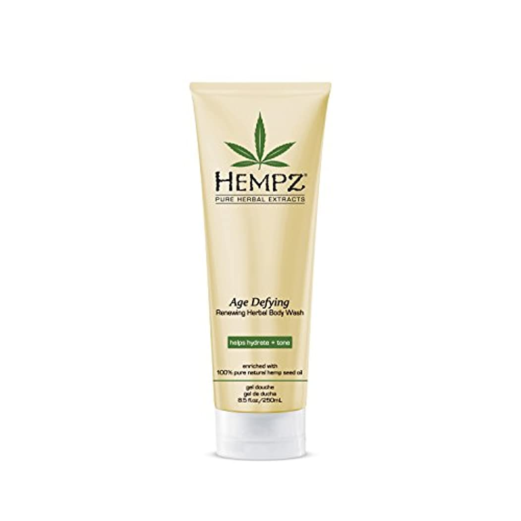 アクティブ散髪噴水Hempz Age Defying Herbal Body Wash, Off White, Vanilla/Musk, 8.5 Fluid Ounce