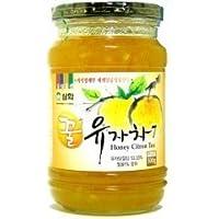 三和・オットギ 蜂蜜入り柚子茶 500g■韓国食品・韓国食材・韓国飲物・韓国飲む酢・韓国飲料・飲物■