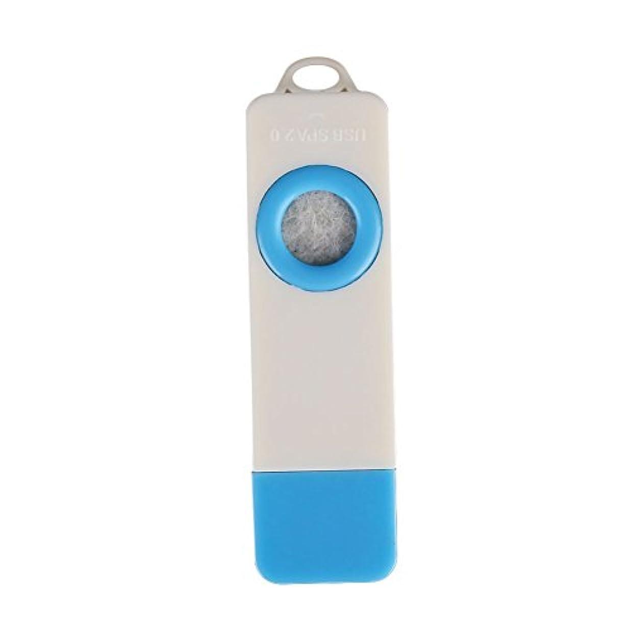 市の中心部スモッグ早めるTOPmountain ファッションミニ USBアロマセラピーディフューザー ポータブル自動香 カーアクセサリーアクセサリー ホームアロマセラピー 健康アロマ オイル加湿器