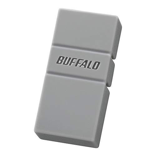 BUFFALO USB3.2(Gen1)TypeC-A対応USBメモリ 64GBグレー RUF3-AC64G-GY