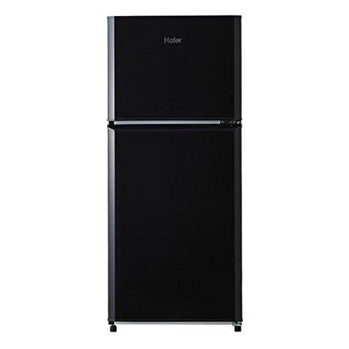 ハイアール 121L 2ドア冷蔵庫(直冷式)ブラック【右開き】...