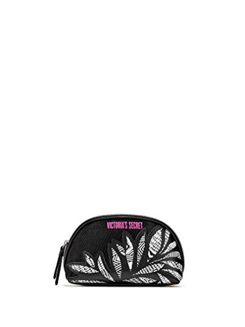 文庫本便益熱帯の【 メイクアップバッグ 】 VICTORIA'S SECRET ヴィクトリアシークレット/ビクトリアシークレット グラフィックブルームビューティーバッグ/Graphic Blooms Beauty Bag [並行輸入品]