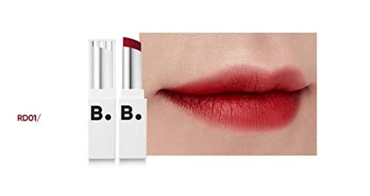 誇張する構成員絶え間ないbanilaco リップドローマットブラストリップスティック/Lip Draw Matte Blast Lipstick 4.2g #MRD01 chic red [並行輸入品]