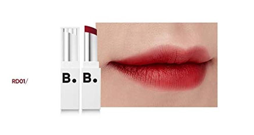 矢じり除外する騒々しいbanilaco リップドローマットブラストリップスティック/Lip Draw Matte Blast Lipstick 4.2g #MRD01 chic red [並行輸入品]