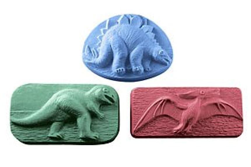 脚安全性オーバーヘッドミルキーウェイ 恐竜 【ソープモールド/石鹸型/シートモールド】