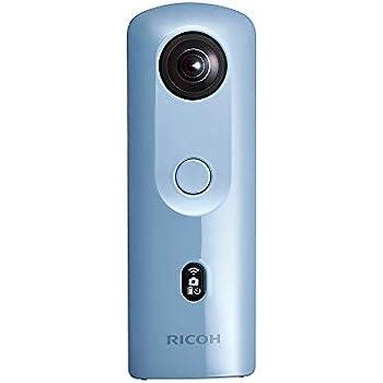 リコー 360度カメラ RICOH THETA SC2 ブルー 全天球カメラ シータ 10803