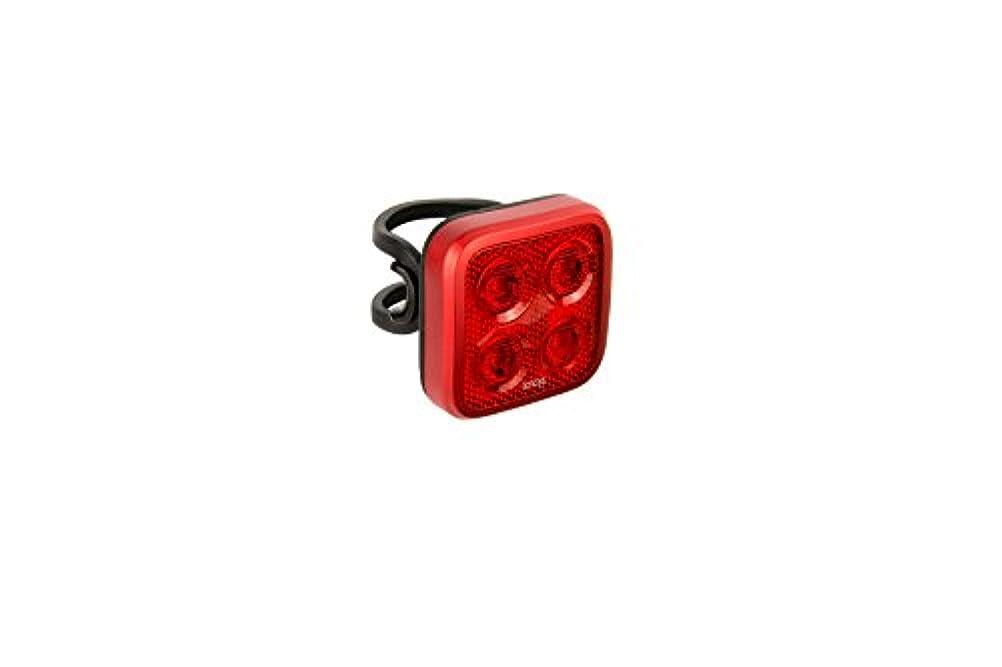 未接続会話バックグラウンドKnog Blinder Mob Four Eyes Rear USB Rechargeable Light, Red by KNOG
