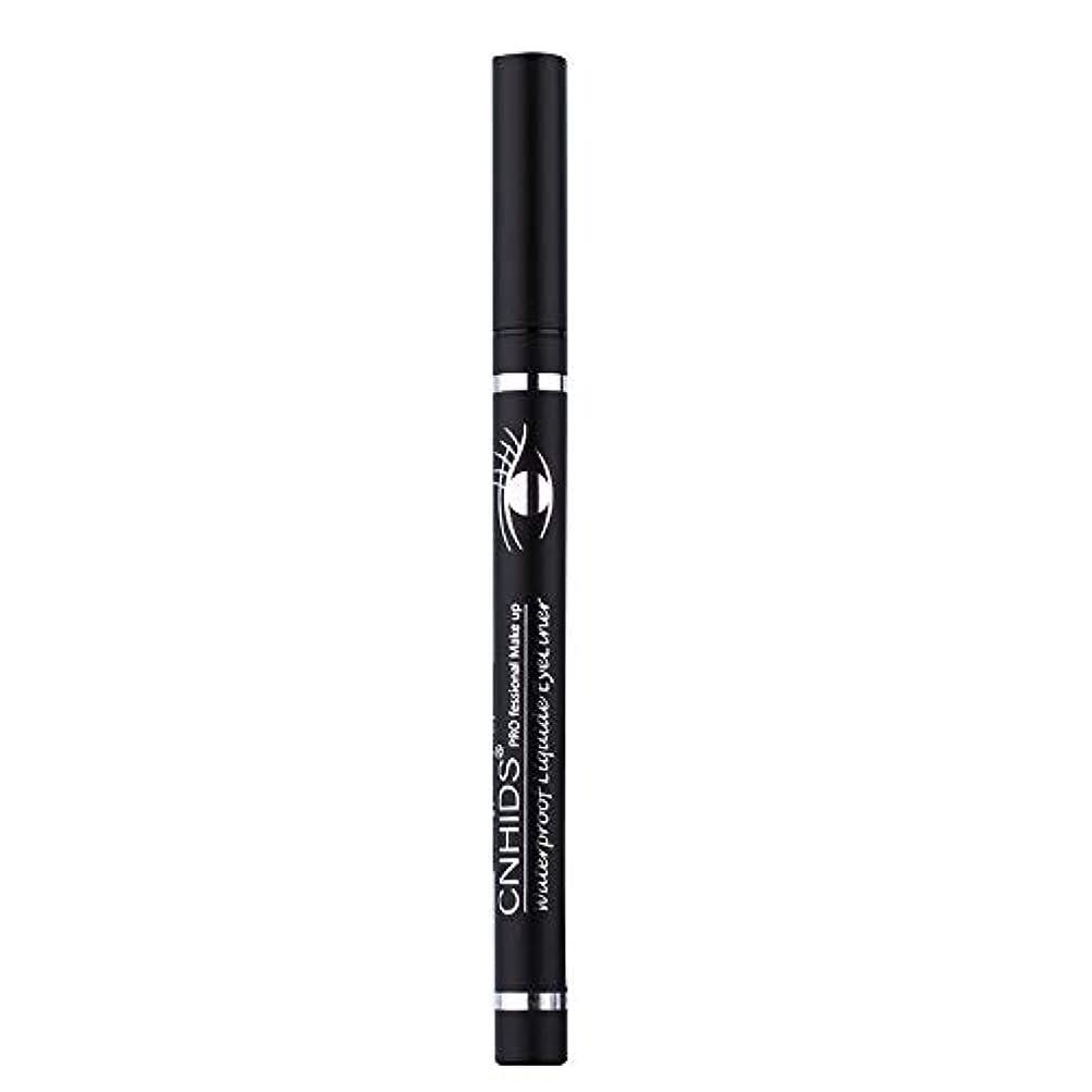 丈夫理解する起点新しい防水美容メイク化粧品アイライナーペンシルブラックリキッドアイライナーペン