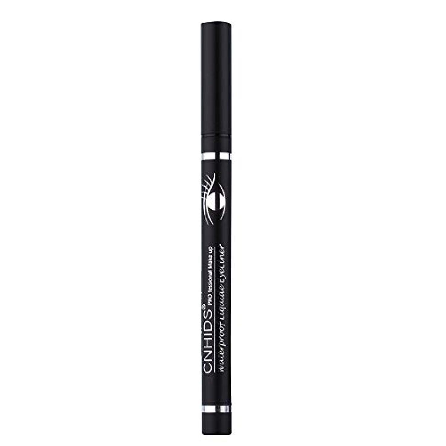 蒸留する覆す着る新しい防水美容メイク化粧品アイライナーペンシルブラックリキッドアイライナーペン