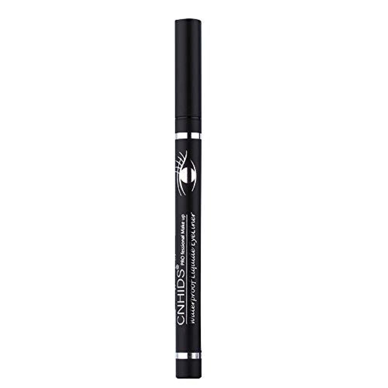 鮫摂氏度純正新しい防水美容メイク化粧品アイライナーペンシルブラックリキッドアイライナーペン