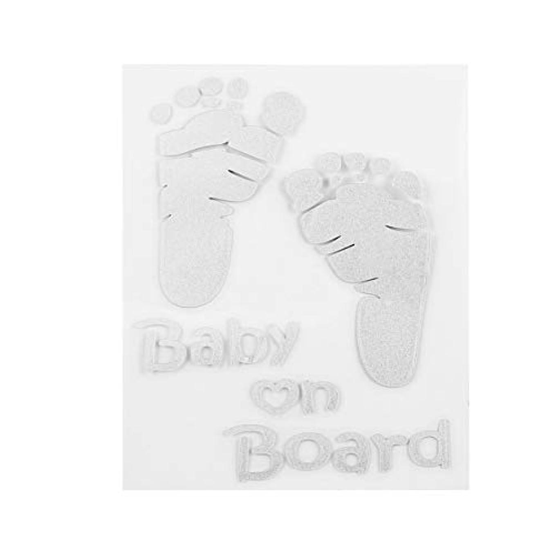 隠調和のとれた打ち上げるボードビニールカーグラフィックウィンドウステッカーデカールインテリア自動で人気の赤ちゃん