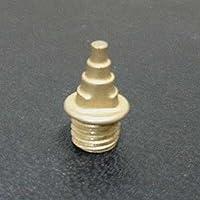 超軽量スパイクピン(XmasTree型) ゴールド 7mm