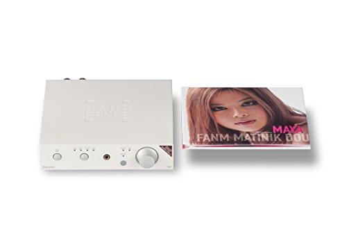 Olasonic USB DAC内蔵プリメインアンプ NANOCOMPO NANO-UA1a プラチナホワイト NANO-UA1a