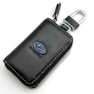 スバル カバー型 レザーキーケース SUBARU レガシー B4 R2 BRZ フォレスター レヴォ インプレッサ G4 などに【Lexuslsオリジナルパッケージ】