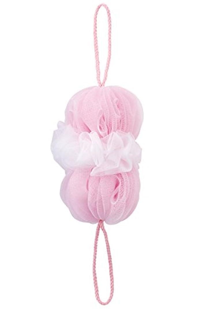 レッスン曲がった設置マーナ(MARNA) 泡工場 背中も洗えるシャボンボール ピンク