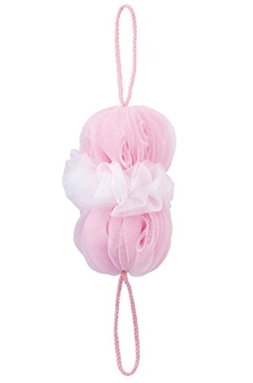 ソーダ水ご飯組み合わせるマーナ(MARNA) 泡工場 背中も洗えるシャボンボール ピンク