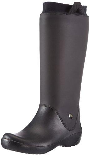 [クロックス] レインフロー ブーツ ウィメン  12424 black/black W5(21.0cm)
