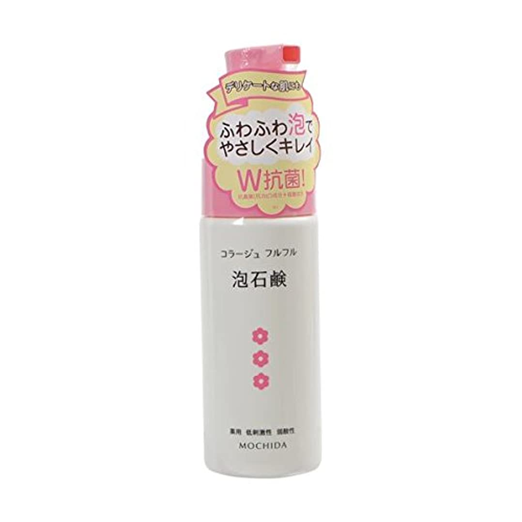 十代テンションコラージュフルフル 泡石鹸 ピンク 150mL (医薬部外品) ×4