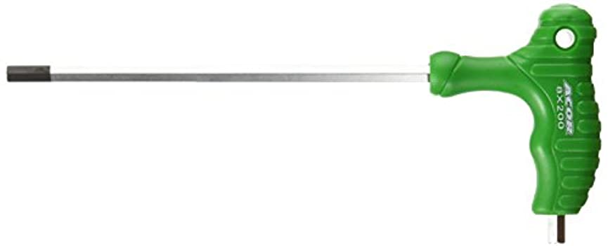 受け取る折巻き戻すACOR(エイカー) T型ヘックスレンチ 8mm ATL-2510G