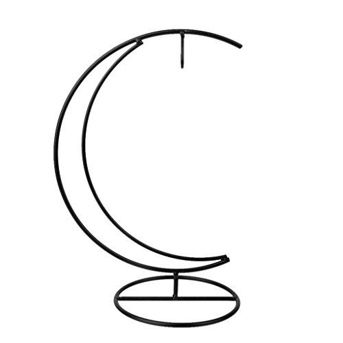 [해외]Hommy 조경 정원 장식 문 형상 철 펀 공장 스탠드 홀더베이스/Hommy landscaping garden decoration moon shape iron hanging plant stand holder base