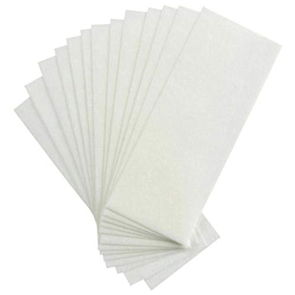 分析するバンクレジデンス1st market 100個の不織布ストリップ脱毛ワックスストリップフェイシャルボディ脱毛ワックスペーパースタイリッシュで人気のある