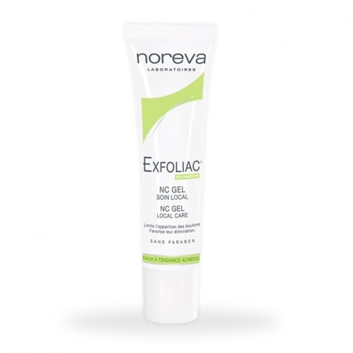 Noreva Exfoliac Nc Gel Local Care 30ml [並行輸入品]