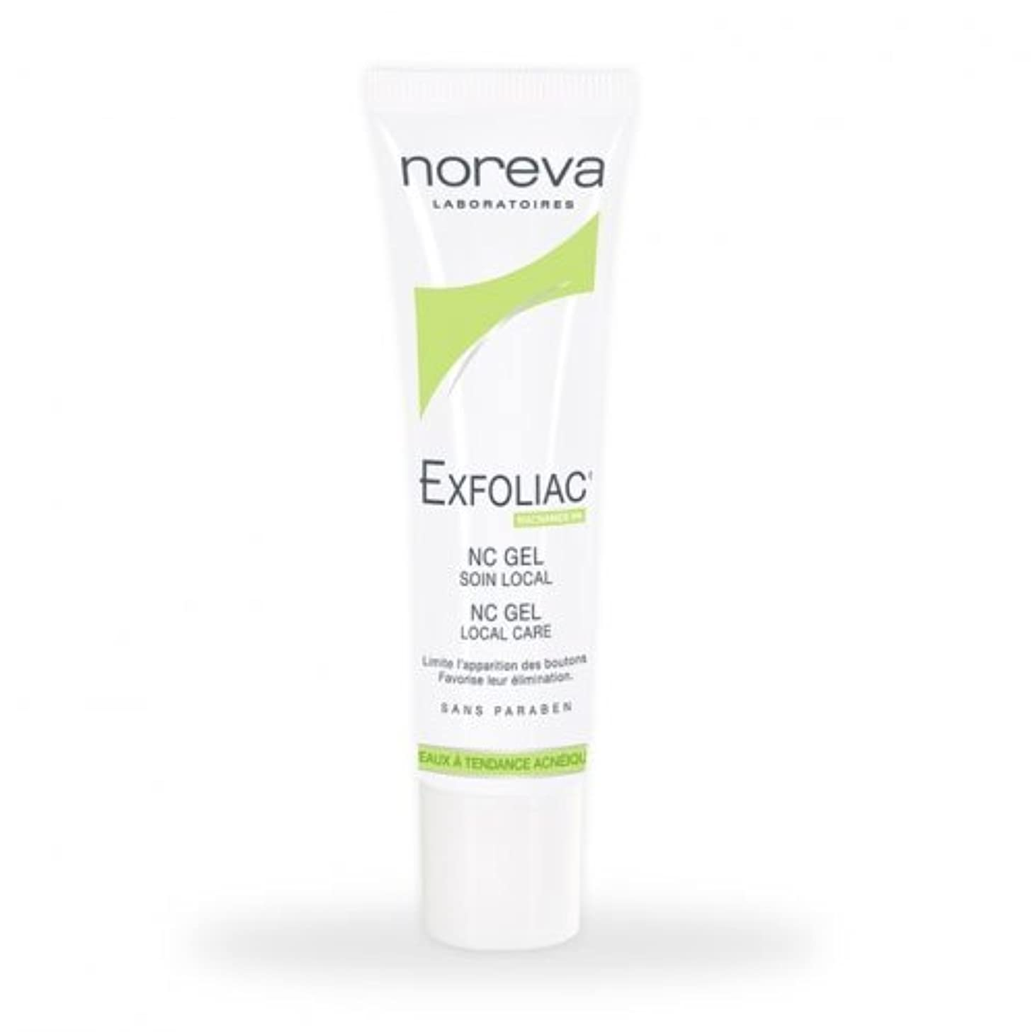 雇用水差し手Noreva Exfoliac Nc Gel Local Care 30ml [並行輸入品]