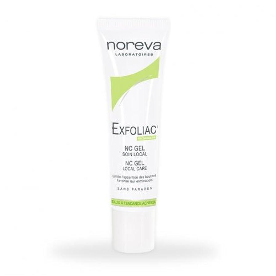 リファイン微生物ナットNoreva Exfoliac Nc Gel Local Care 30ml [並行輸入品]