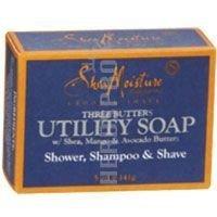 海外直送品Shea Moisture Men's Utility Soap, 5 OZ (Pack of 5)