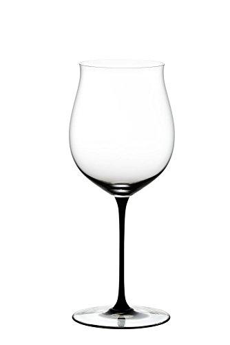 リーデル (RIEDEL) 赤ワイングラス ソムリエ ブラック・タイ ブルゴーニュ・グラン・クリュ 1050ml 4100/16 1個入