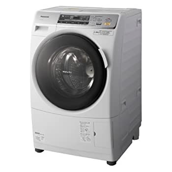 Panasonic ななめドラム洗濯乾燥機 6kg 左開き クリスタルホワイト NA-VD120L-W