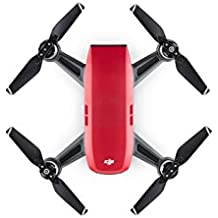 DJI Spark, Portable Mini Drone (Lava Red)