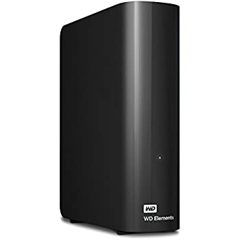 WD HDD 外付けハードディスク 8TB Elements Desktop USB3.0 WDBBKG0080HBK-JESN/2年保証