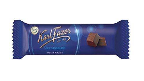 Karl Fazer カール・ファッツェル ミルクチョコレートバー 39g×5本セット フィンランドのチョコレートです [並行輸入品]