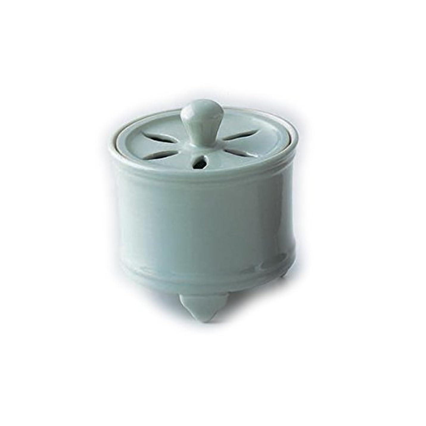 溝熱スポンサー香炉 青磁 紙箱入