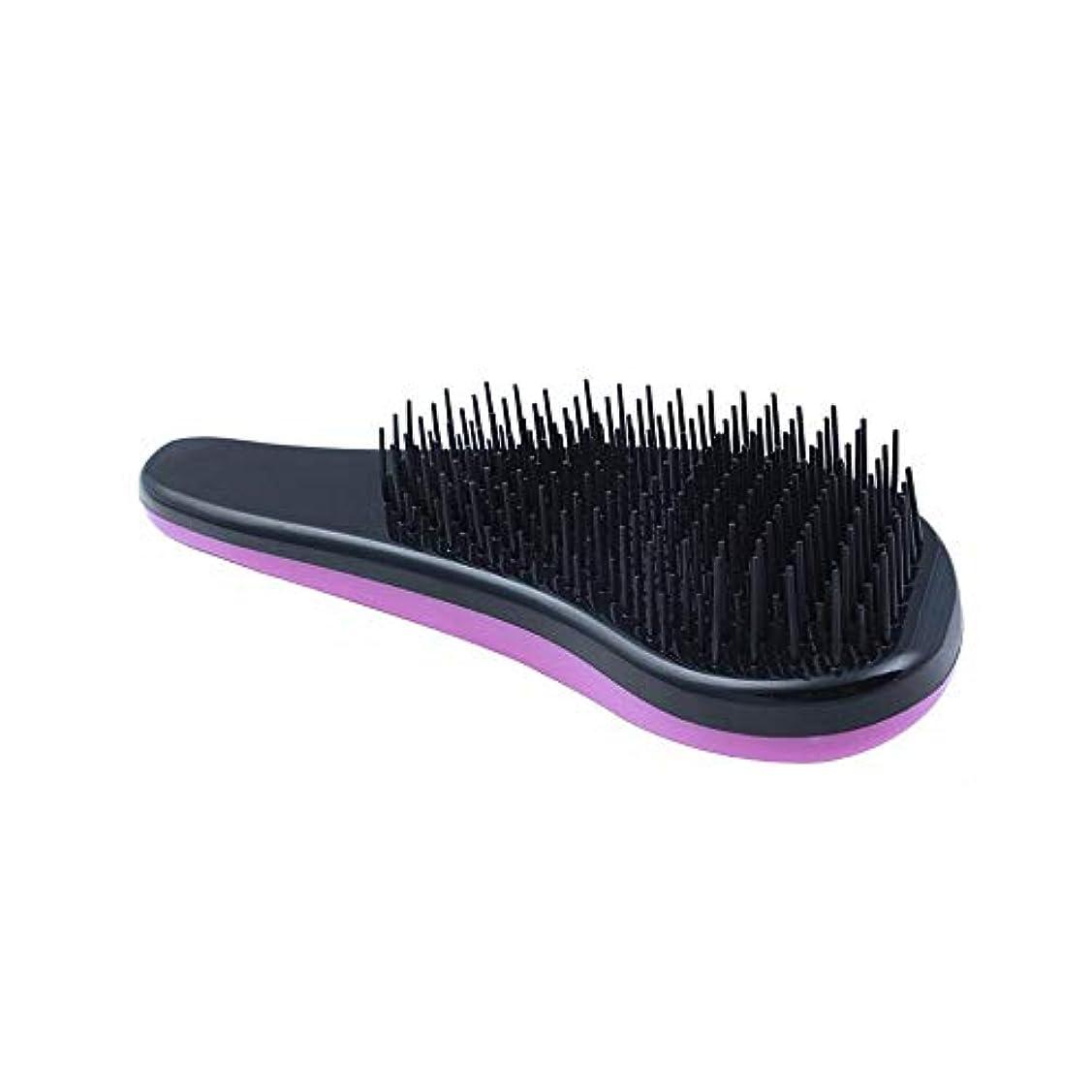 WASAIO ヘアブラシマッサージブラシ、手動頭皮マッサージ、すべての髪の柔軟なシリコーン毛 (色 : オレンジ)