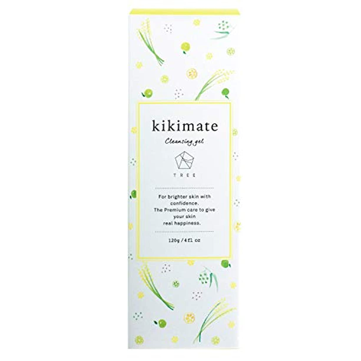 春マナーリーズ< kikimate クレンジングジェル > キキメイト 低刺激 オーガニック スキンケア 洗顔 120g ~毛穴?黒ずみに優しくアプローチ~