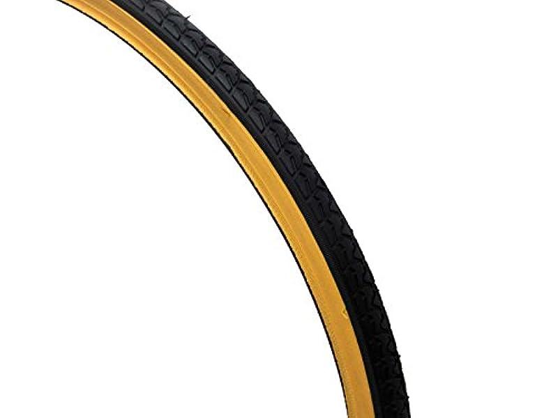 証明宗教遷移共和 自転車 タイヤ アメクロツートーン 27インチ×1 3/8 WO