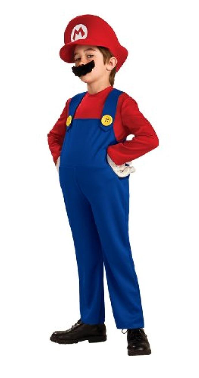良さ倫理お母さんスーパーマリオ デラックス 幼児?子供用 コスチューム/Super Mario Deluxe Toddler?ハロウィン?サイズ:Small (4/6)